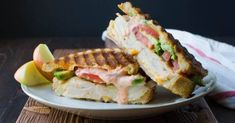 California Smoked Chicken Panini: The BEST chicken panini recipe - ready in 15 minutes. California Smoked Chicken Panini is not your ordinary smoked chicken sandwich w/aioli, cheese & avocado.