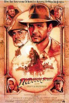 Poster Indiana Jones y la Última Cruzada   Carteles de Cine y Posters