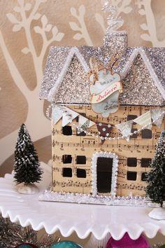 Girl. Inspired.: glittery, shimmery houses