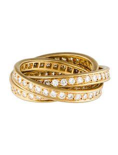Cartier Trinity de Cartier Diamond Ring #Cartier