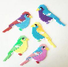 Bird hama beads. pinterest: @yyyanam