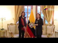 María Fernanda Espinosa se reunió con las cancilleres de Colombia y Argentina | ElCiudadano.gob.ec