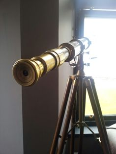 Ye Olde Telescope to star gaze