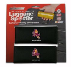 NCAA Arizona State Sun Devils Single Luggage Spotter by Rico. $9.31. Nylon handle wrap for cushion comfort with patented ID window sewn in place and enclosed by velcro