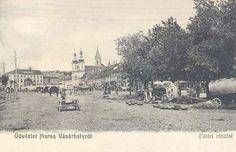 Marosvásárhely:főtéri részlet hetivásár idején.1904 Paris Skyline, Travel, Voyage, Viajes, Traveling, Trips, Tourism