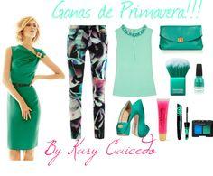 """Ganas de Primavera!!"" by karycaicedo on Polyvore"