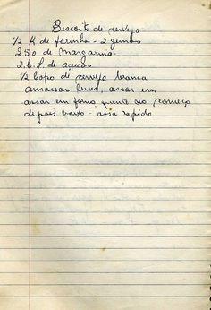 Culinaria  -_livro_de_receitas I Love Food, Good Food, Yummy Food, Old Recipes, Diet Recipes, Jam Cookies, Tea Party Birthday, Portuguese Recipes, Easy Snacks