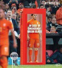 In Case of Emergency Break Glass.