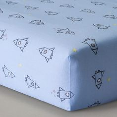 Circo™ Woven Fitted Crib Sheet - Space Explorer : Target