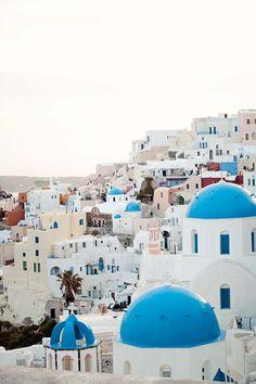 Oia Santorini Greece | color