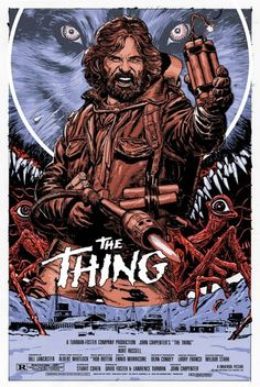 The Thing - movie poster - Chris Weston
