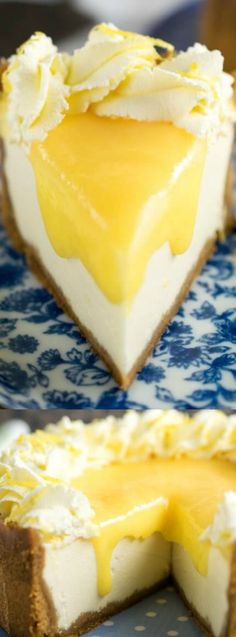 This Instant Pot Lemon & Ginger Cheesecake from Every Nook and Cranny is the easiest cheesecake recipe that you will ever make! If you've never used an instant pot then you are totally missing out — they are AWESOME! This recipe is definitely a Lemon Lovers dream come true with it's lemony flavor, soft silky texture, and the perfect balance of sweet and sour.