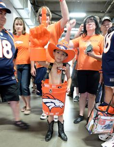Broncos Barrel Boy