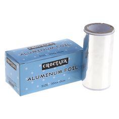 1Roll Pro Salon Aluminum Foil Paper Nail Art Soak Off UV Gel Polish Wraps Tip Polish Remover Finger Care Treatment Manicure Tool