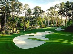 10th hole, Augusta National GC.
