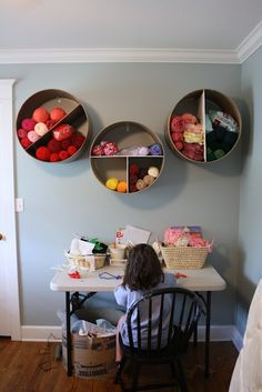 102 Best Tips To Get Your Home Super Organized | Yarn Storage, Wine Rack  And Yarns