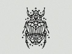 Scarab - Tattoo by alain l'thi on Dribbble Bug Tattoo, Moth Tattoo, Real Tattoo, Hippy Tattoo, Plant Tattoo, Cute Tattoos, Body Art Tattoos, Small Tattoos, Sleeve Tattoos