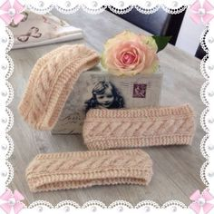 Pannebånd med oppskrift ❤️ - Lilly is Love Diy And Crafts, Arts And Crafts, Baby Barn, Knitted Hats Kids, Headbands For Women, Women's Headbands, Kids And Parenting, Knitting Patterns, Knit Crochet