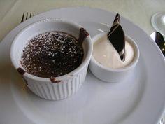 Chocolate melting Cake on Carnival Cruise Lines.