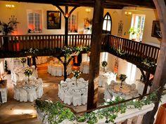 Le Prieuré de Saint Cyr à SAINT CYR SUR MORIN (77750) : Location de salle de mariage salle de reception - 1001Salles
