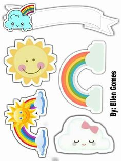 Sunshine Birthday Parties, Unicorn Birthday Parties, Unicorn Party, Bible Story Crafts, Daisy Girl Scouts, Cartoon Stickers, Rainbow Painting, Little Pony, Silhouette Cameo
