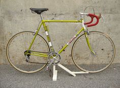 1973 Frejus in mint condition.  I had a 1973 Orbea that looked very similar (the frame was the same metallic golden-green color)