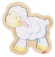 Drevené puzzle Ovečka Puzzles, Winnie The Pooh, Smurfs, Disney Characters, Fictional Characters, Children, Art, Easter, Sheep