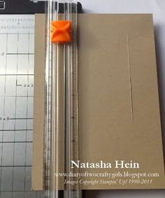 Wonder if I could cute  square or rectangle in the middle of my card stock? Might be worth a try. Center step card tutorial