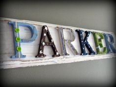 So cute. Personalized to match your room and not girly!