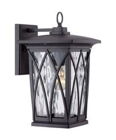 Quoizel GVR8408 Grover 1 Light Outdoor Wall Light
