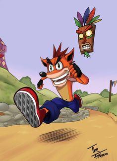 Crash Bandicoot by TheFresco on DeviantArt