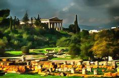 Hefaistion, Agora. Athens, Greece.