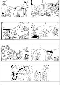 Còmic dels Barrufets Comic of the Smurfs Fun Writing Activities, Teaching Writing, Writing Skills, Comic Book Template, Creative Writing Classes, Sequencing Cards, Writing Pictures, Picture Story, Speech Language Therapy