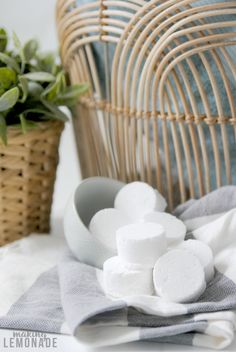 These essential oil infused DIY shower steamer disks are super easy to make and not only support winter wellness and seasonal issues but make your home smell like a spa! Best Essential Oils, Young Living Essential Oils, Shower Steamers, Eucalyptus Essential Oil, Diffuser Recipes, Diy Shower, Wellness Spa, House Smells, Funky Junk