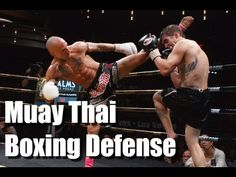 Boxing Defense in Muay Thai (Kevin Ross vs Michael Thompson) Muay Thai Techniques, Fight Techniques, Martial Arts Techniques, Self Defense Techniques, Muay Thai Training, Martial Arts Training, Krav Maga, Judo, Muay Thai Workouts