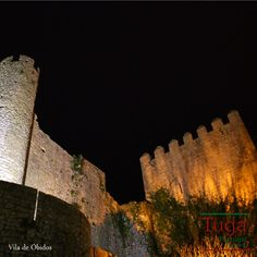 O Castelo de Óbidos, Portugal