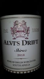Alvi's Drift Shiraz 2010