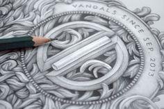 Beautiful illustration and typographic work...