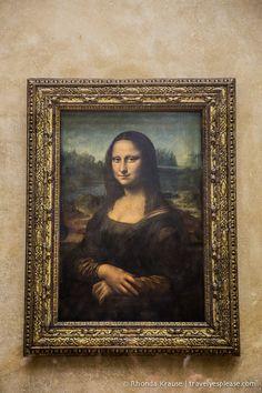 Mona Lisa The Louvre Museum (Musée du Louvre) Paris, France Paris Travel, France Travel, Mona Lisa Louvre, Paris Tourist Attractions, Romantic Paris, Estilo Real, I Love Paris, Illustrations, Viajes