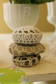OMG!!  Crocheted Rocks!?!?