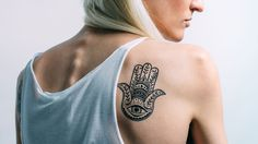 Temporary Tattoos by Outliers. Hamsa, Temporary Tattoos, Beautiful, Fashion, Tattoo, Flower, Moda, La Mode, Fasion