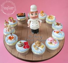 Little Chef Cupcakes by The Clever Little Cupcake Company