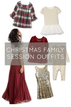 Outfit inspiration for your Christmas family session Family Christmas Outfits, Christmas Pictures Outfits, Family Picture Outfits, Holiday Outfits, Christmas Photos, Couple Outfits, Christmas Trees, Christmas Decor, Family Photos What To Wear