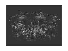 Midnight Carousel Wall Art Prints by the duarte creative | Minted