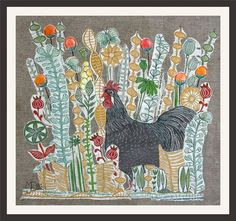 Buy My kinda'Guy, XL linocut, textile collage with embroidery, Collage by Mariann Johansen-Ellis on Artfinder. Discover thousands of other original paintings, prints, sculptures and photography from independent artists.