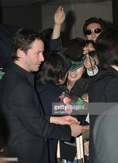 """Keanu Reeves during """"Constantine"""" Tokyo Premiere - Arrivals at Tokyo International Forum in Tokyo, Japan. Get premium, high resolution news photos at Getty Images Keanu Reeves House, Stock Pictures, Stock Photos, Arch Motorcycle Company, Tokyo Japan, Royalty Free Photos, Pretty People, Celebrities, Fictional Characters"""