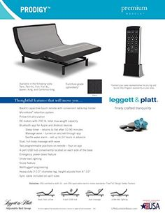 Special Offers -  New 2016  Leggett and Platt Prodigy 2.0 (Split King) - In stock & Free Shipping. You can save more money! Check It (July 14 2016 at 06:04PM) >> http://airmattressusa.net/new-2016-leggett-and-platt-prodigy-2-0-split-king/
