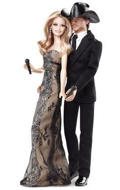 Country Music Barbie Dolls - Faith Hill & Tim McGraw