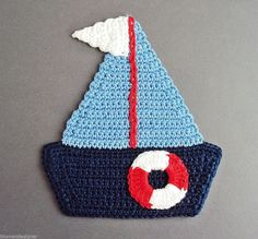 276 Me gusta, 0 comentarios - rengarenk örgüler ( en Instagr. Appliques Au Crochet, Crochet Applique Patterns Free, Crochet Motif, Crochet Doilies, Crochet Flowers, Crochet Stitches, Knit Crochet, Crochet Boat, Crochet Starfish