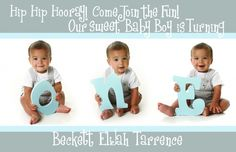 SUPER cute first birthday party for boy
